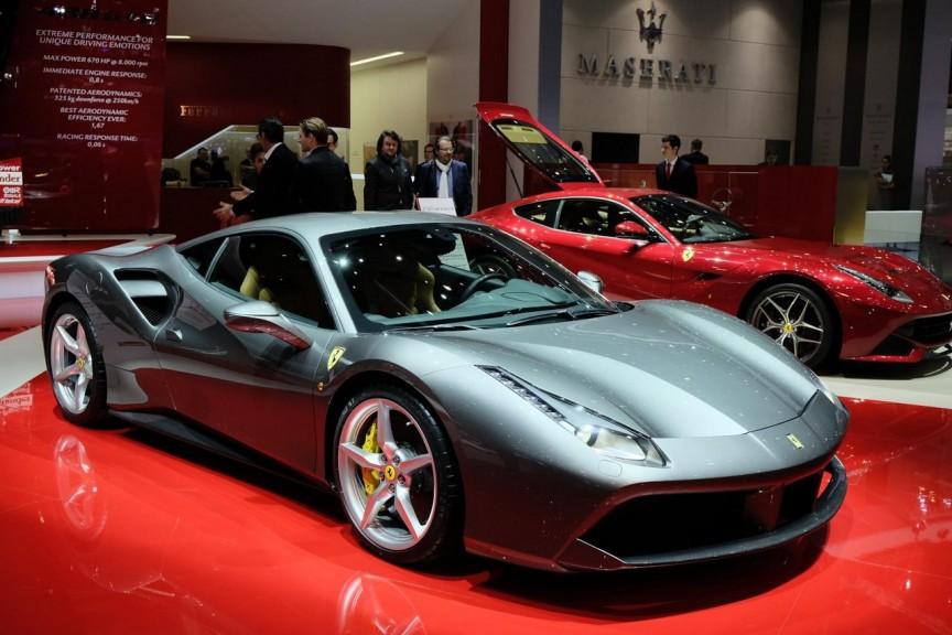 Ferrari 488 GTB 2016