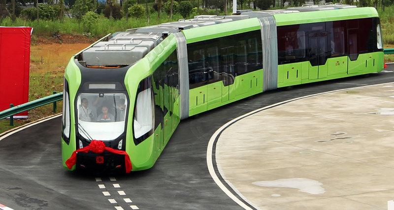 У Китаї винайшли безпілотний, повністю новий вид транспорту (відео)