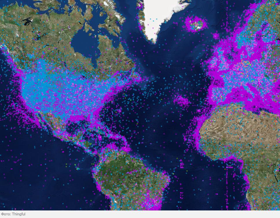 2022 рік - до інтернету підключиться 1 трильйон датчиків
