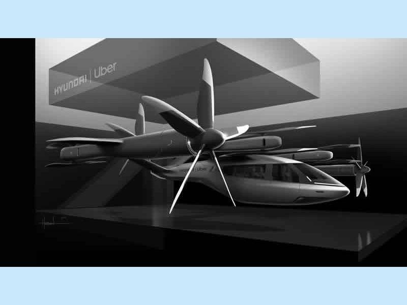 hyundai and uber air taxi