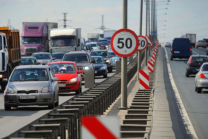 Зниження граничної швидкості руху в містах