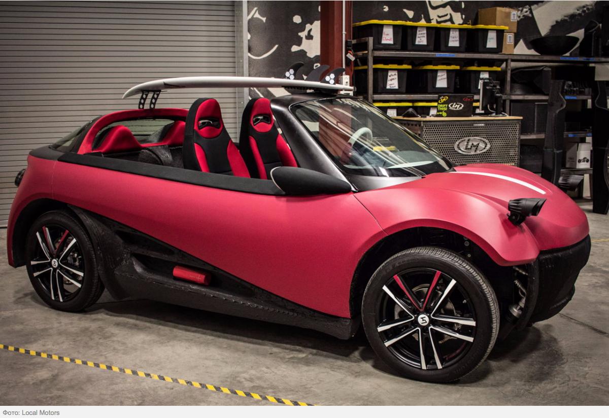 2022 рік - з'явиться перша машина, надрукована на 3D-принтері