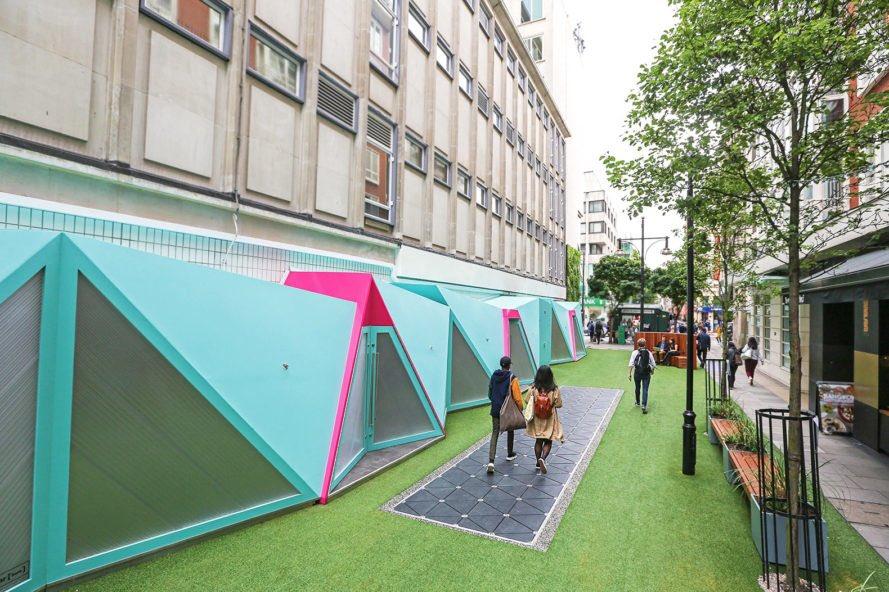 В Лондоні встановили тротуар, який виробляє енергію